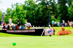 Ball during Slovenia Long Drivers European Tour  Championship on July 5, 2014 in  Golf Arboretum Ljubljana, Volcji Potok, Slovenia. Photo By Vid Ponikvar / Sportida
