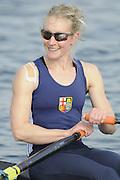 Eton, United Kingdom    GBR LW1X,  Imogen WALSH after the women's lightweight single Sculls,  Sunday Final, 2012 GB Rowing Trials, Dorney Lake. Near Windsor Berks Sunday  11/03/2012  [Mandatory Credit; Peter Spurrier/Intersport-images]