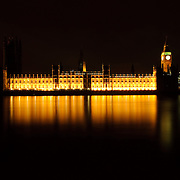 British Houses of Parliament from Queens Way