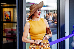 July 2, 2019 - AMSTERDAM - Netherlands - Dutch Queen Máxima opens the Coding College 'Codam' in Amsterdam. Máxima is a member of the Dutch Entrepreneurship Committee. The programming school wants to provide a solution for the shortage of well-trained programmers in the Netherlands. The school offers a three-year, free programming programme at the Marineterrein Amsterdam. Queen Maxima performs the official opening of the programming school, in the presence of Minister Van Engelshoven of Education, culture and science. Credit: Frank van Beek | Hollandse Hoogte (Credit Image: © Hollandse-Hoogte via ZUMA Press)