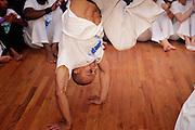 Professor Lobo Mau hosted his first Batizado for Capoeira Ginga Solta USA. The Batizado is a special event designed to celebrate Capoeira students and their progress. The event included performances, solos demonstrations and the ceremonial belt test.