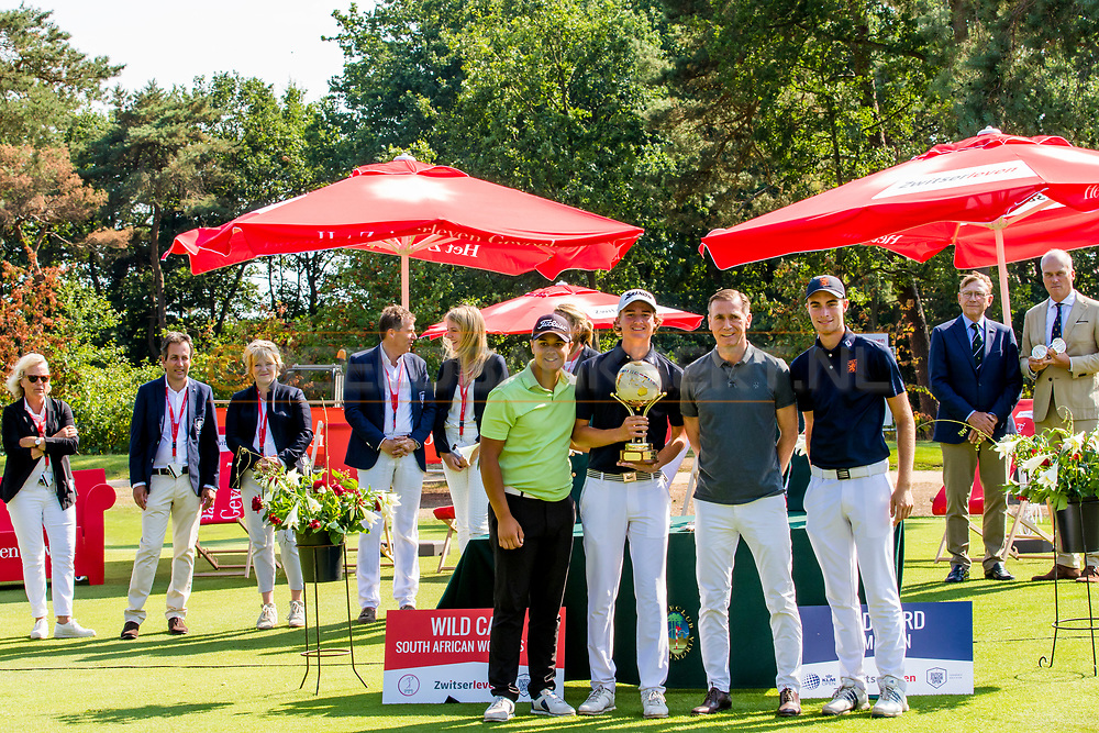 21-07-2018 Pictures of the final day of the Zwitserleven Dutch Junior Open at the Toxandria Golf Club in The Netherlands.21-07-2018 Pictures of the final day of the Zwitserleven Dutch Junior Open at the Toxandria Golf Club in The Netherlands.  Nations Cup Team Boys winnners: The Netherlands