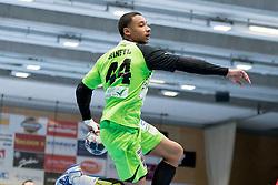 11.03.2017, Halle Hollgasse, Wien, AUT, HLA, SG INSIGNIS Handball WESTWIEN vs HC Fivers WAT Margareten, Oberes Playoff, 5. Runde, im Bild Julian Ranftl (SG INSIGNIS Handball WESTWIEN) // during Handball League Austria, 5 th round match between HC Fivers WAT Margareten and SG INSIGNIS Handball WESTWIEN at the Halle Hollgasse, Vienna, Austria on 2017/03/11, EXPA Pictures © 2017, PhotoCredit: EXPA/ Sebastian Pucher