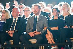 The Duke and Duchess of Sussex attend the Invictus Games 2018 opening ceremony, at Sydney Opera House, on the fifth day of the royal couple's visit to Australia.