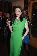 Josefina Gabrielle, The press night performance of the Menier Chocolate Factory's 'Merrily We Roll Along', following its transfer to the Harold Pinter Theatre, After-show party at Grace Restaurant, Gt. Windmill St. London. 1 May 2013.