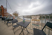 London,  England, Great Britain, 7th April 2019, Oxford and Cambridge Universities Men's Varsity, Boat Race, Championship Course, Putney to Mortlake, River Thames,<br /> [Mandatory Credit: Patrick WHITE], Saturday  06/04/2019