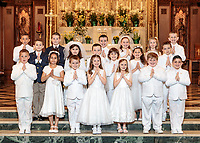First Communion at St Catherine of Siena on May 5, 2019, 9:00 AM celebration