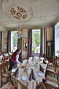 Ystad. Hotel Continental. Sweden's oldest hotel, it opened in 1829..One of Wallander's favourite restaurants is in the hotel and it is here that he takes his daughter Linda when he wants to celebrate. The hotel also features in One Step Behind (Sw film) and The African (Sw film)..You can book dinner at Wallander's regular table at the Hotell Continental under a crystal chandelier.