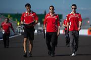 October 10-12 : Russian Grand Prix : Alexander Rossi, Marussia F1 team