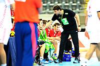 Fredag 1. November 2013 , Hånball , Bring Cup Golden Leauge , Herrer<br /> Norge - Kroatia<br /> Robert Hedin , trener Norge<br /> Foto: Sjur Stølen / Digitalsport