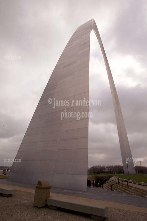 St Louis Arch at Gateway Riverside Park, Jefferson National Expansion Memorial.