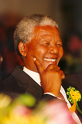 Nelson Mandela. Picture: THE ARGUS.