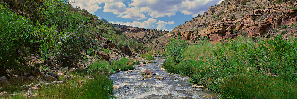 Upper section of the Verde River in central Arizona