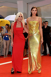 Premiere of the film 'A Star is Born' during the 75th Venice Film Festival. 31 Aug 2018 Pictured: Donatella Versace, Irina Shayk. Photo credit: M. Angeles Salvador/MEGA TheMegaAgency.com +1 888 505 6342