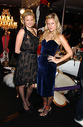 Left to right, sisters FIONA SCARRY and OLYMPIA SCARRY at a party to celebrate The World of Alber Elbaz for Lanvin at Harvey Nichols, Knightsbridge, London on 1st February 2006.<br /><br />NON EXCLUSIVE - WORLD RIGHTS
