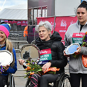 Winner of the wheelchairs at The Vitality Big Half 2019 on 10 March 2019, London, UK.