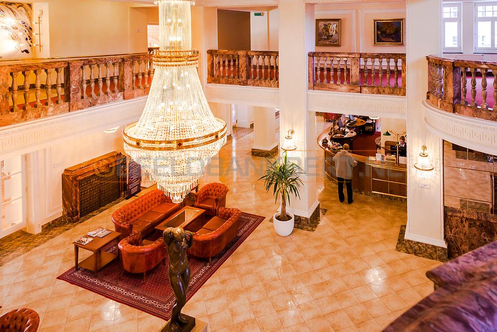 20-09-2015: Hotel Imperial in Karlovy Vary (Karlsbad), Tsjechië. Foto: Lobby