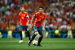 June 10, 2019 - Madrid, MADRID, SPAIN - Daniel Parejo Munoz of Spain during the 2020 UEFA European Championships group F, European Qualifiers, played between Spain and Sweden at Santiago Bernabeu Stadium in Madrid, Spain, on June 10, 2019. (Credit Image: © AFP7 via ZUMA Wire)