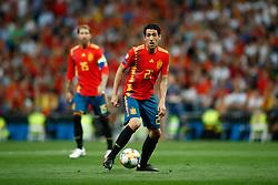 June 10, 2019 - Madrid, MADRID, SPAIN - Daniel Parejo Munoz of Spain during the 2020 UEFA European Championships group F, European Qualifiers, played between Spain and Sweden at Santiago Bernabeu Stadium in Madrid, Spain, on June 10, 2019. (Credit Image: © AFP7 via ZUMA Wire)