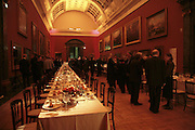 Atmosphere, Hogarth private view and dinner. Tate Britain. London. 5 February 2007.  -DO NOT ARCHIVE-© Copyright Photograph by Dafydd Jones. 248 Clapham Rd. London SW9 0PZ. Tel 0207 820 0771. www.dafjones.com.