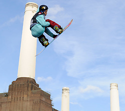 29.10.2011, Battersea Power Station, London GBR, FIS Snowboard Worldcup, Relentless Freeze Festival, im Bild FIS World Cup 2012 Heat 1, Petr  HORAK of CZE // during FIS Snowboard Worldcup at Relentless Freeze Festival in London, United Kingdom on 29/10/2011. EXPA Pictures © 2011, PhotoCredit: EXPA/ TNT Sports/ Nick Tapsell +++++ ATTENTION - OUT OF ENGLAND/GBR +++++
