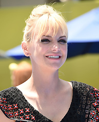 July 23, 2017 - Westwood, California, U.S. - Anna Faris arrives for the premiere of the film 'The Emoji Movie' at the Regency Village theater. (Credit Image: © Lisa O'Connor via ZUMA Wire)