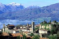 Italie, Toscane, Province de Lucca, Village de Castelnuovo Di Garfagnana