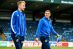 Tom Lockyer of Bristol Rovers and Chris Lines of Bristol Rovers arrive at Adams Park for the Sky Bet League One fixture against Wycombe Wanderers - Mandatory by-line: Robbie Stephenson/JMP - 18/08/2018 - FOOTBALL - Adam's Park - High Wycombe, England - Wycombe Wanderers v Bristol Rovers - Sky Bet League One