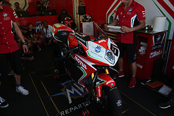 July 8, 2018 - Misano, Italy, Italy - 81 Jordi Torres ESP MV Agusta 1000 F4 MV Agusta Reparto Corse during the Motul FIM Superbike Championship - Italian Round  Sunday race during the World Superbikes - Circuit PIRELLI Riviera di Rimini Round, 6 - 8 July 2018 on Misano, Italy. (Credit Image: © Fabio Averna/NurPhoto via ZUMA Press)
