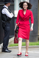 © Licensed to London News Pictures . 05/07/2016 . London , UK . THERESA VILLIERS arrives . Conservative Party cabinet meeting on Downing Street , London . Photo credit: Joel Goodman/LNP