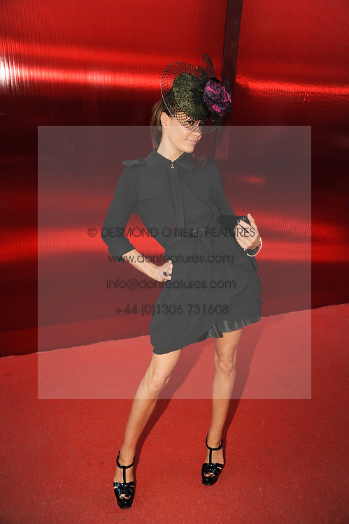 TARA PALMER-TOMKINSON at the annual Serpentine Gallery Summer party this year sponsored by Jaguar held at the Serpentine Gallery, Kensington Gardens, London on 8th July 2010.  2010 marks the 40th anniversary of the Serpentine Gallery and the 10th Pavilion.