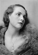 Diana Beaumont, actress, 1931