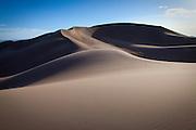 Landscape image of Great Sand Dunes National Park, Colorado.