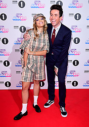 Rita Ora and Nick Grimshaw attending BBC Radio 1's Teen Awards, at the SSE Arena, Wembley, London.