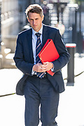 Secretary of State for Education Gavin Williamson arrives in Downing Street on Tuesday, 21 July 2020 – to attend a Cabinet meeting for the first time since the lockdown to be held at the Foreign and Commonwealth Office (FCO) in London. (VXP Photo/ Vudi Xhymshiti)