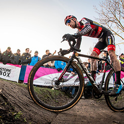 2019-12-27 Cycling: dvv verzekeringen trofee: Loenhout: Eli Iserbyt defends his overall lead
