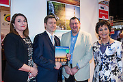 27/1/16 US Chargé d'affaires Reece Smyth Visit North Carolina stand at the Holiday World Show 2017 at the RDS Simmonscourt in Dublin. Picture: Arthur Carron