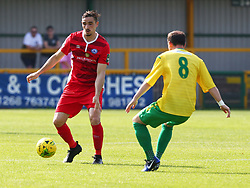 August 28, 2017 - London, United Kingdom - Dan Waldren of Billericay Town.during Bostik League Premier Division match between Thurrock vs Billericay Town at  Ship Lane Ground, Aveley on 28 August 2017  (Credit Image: © Kieran Galvin/NurPhoto via ZUMA Press)