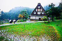 Hida Folk Village, Takayama, Gifu Prefecture, Japan
