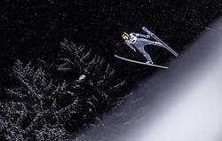 18.01.2019, Wielka Krokiew, Zakopane, POL, FIS Weltcup Skisprung, Zakopane, Qualifikation, im Bild Anze Semenic (SLO) // Anze Semenic of Slovenia during his Qualification Jump of FIS Ski Jumping World Cup at the Wielka Krokiew in Zakopane, Poland on 2019/01/18. EXPA Pictures © 2019, PhotoCredit: EXPA/ JFK
