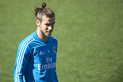 March 15, 2019 - Madrid, Madrid, Spain - Gareth Bale (midfielder; Real Madrid) during a training session at the Valdebebas training facilities on March 15, 2019 in Madrid, Spain (Credit Image: © Jack Abuin/ZUMA Wire)