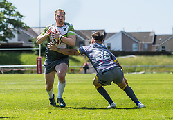 West Wales Raiders v Newcastle Thunder<br /> <br /> Photographer Craig Thomas/Replay Images<br /> <br /> Betfred League 1 - West Wales Raiders v Newcastle Thunder  - Saturday 03rd June 2018 - Stebonheath Park - Llanelli<br /> <br /> World Copyright © 2017 Replay Images. All rights reserved. info@replayimages.co.uk - www.replayimages.co.uk