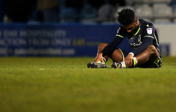 Ellis Harrison of Bristol Rovers cuts a dejected figure after defeat to Gillingham - Mandatory by-line: Robbie Stephenson/JMP - 16/12/2017 - FOOTBALL - MEMS Priestfield Stadium - Gillingham, England - Gillingham v Bristol Rovers - Sky Bet League One