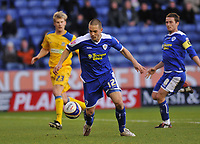 Photo: Tony Oudot/Richard Lane Photography. Leicester City v Southend United. Coca-Cola Football League One. 06/12/2008. <br /> Hat trick hero Matty Fryatt in action for Leicester