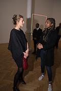 LILY LYONS; ALLYSSIA ALLEYNE, Pace London presents The Calder Prize 2005-2015, Burlington Gardens, London.  Thursday 11 February 2016,