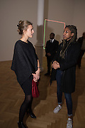 LILY LYONS; ALLYSSIA ALLEYNE, Pace London presents The Calder Prize 2005-2015, Burlington Gardens, London.  Thursday 11 February 2016,