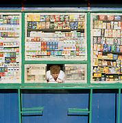 Street vendor in Warsaw, Poland