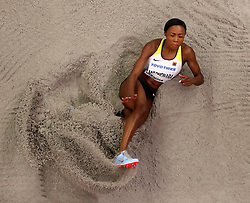 Germany's Sosthene Moguenara in action during the women's Long Jump during day four of the 2018 IAAF Indoor World Championships at The Arena Birmingham. PRESS ASSOCIATION Photo. Picture date: Sunday March 4, 2018. Photo credit should read Simon Cooper/PA Wire.