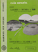 Railway Cup Football Final. Connacht v Ulster. Croke Park, Dublin. 17th March 1971. 17.03.1971.  Railway Cup Hurling Final. Munster v Leinster. Croke Park, Dublin. 17th March 1971. 17.03.1971.