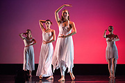 Santa Clara University's Department of Theatre & Dance students perform Images during a dress rehearsal at Louis B. Mayer Theatre in Santa Clara, California, on February 8, 2017. (Scott MacDonald for SOSKIphoto)